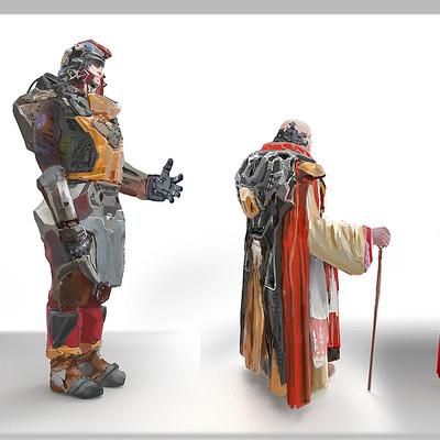 Wojciech bajor 00050 wb characters concept priests and juggenaut v2 mixed