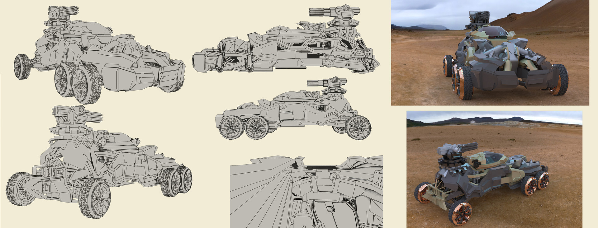Wojciech bajor concept 1 mobile tank