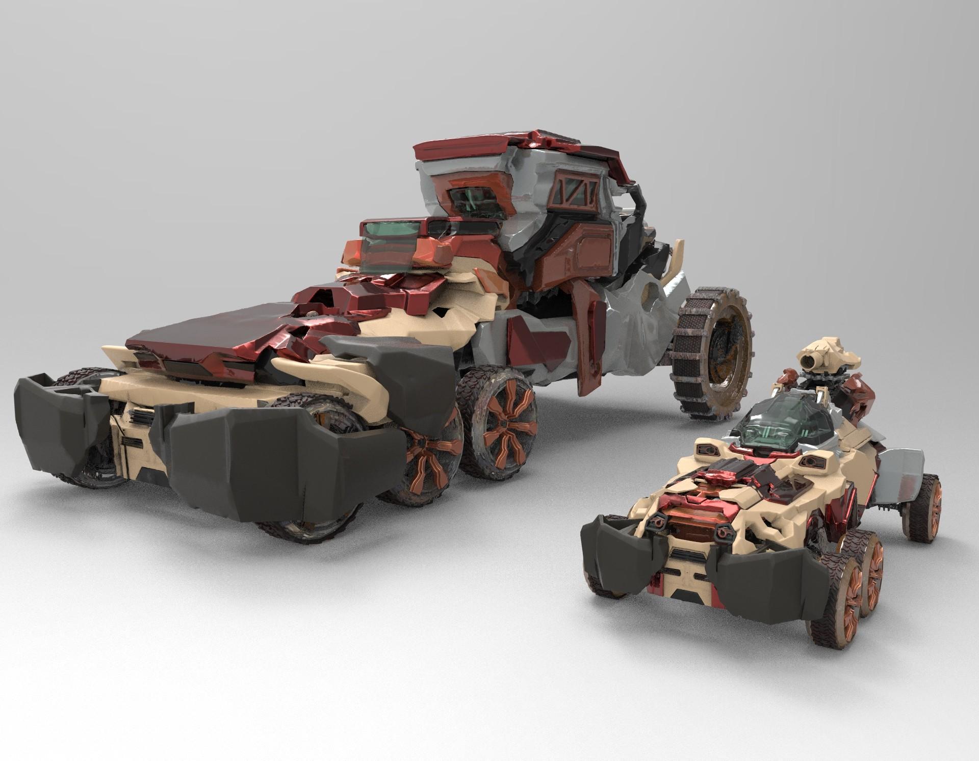 Wojciech bajor wb vehicles tank transport render 4 concepts 34