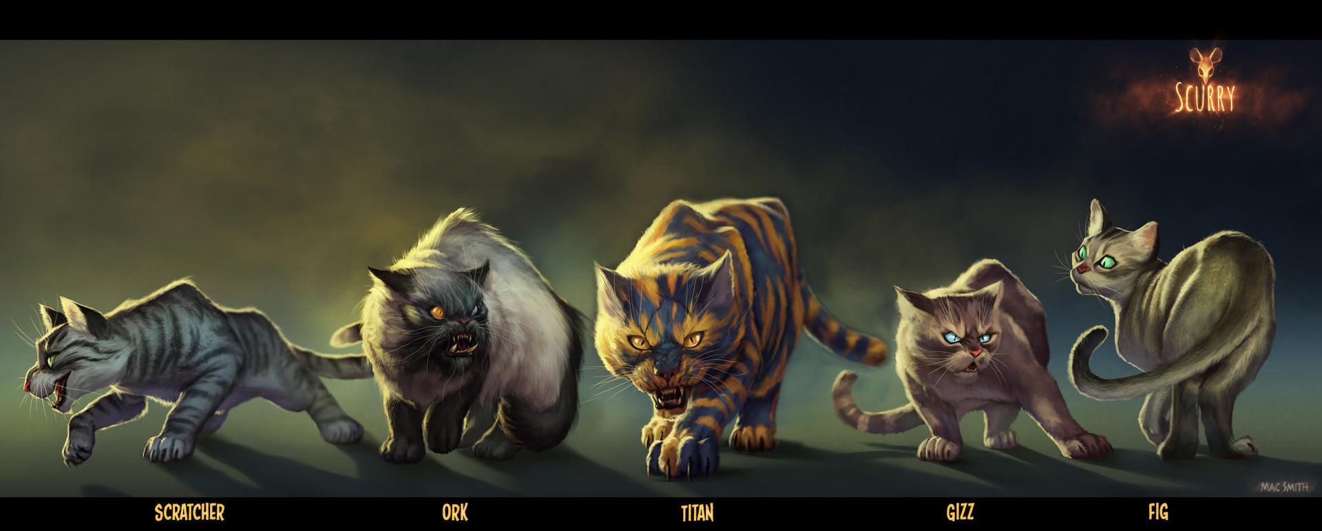 Mac smith cat lineup