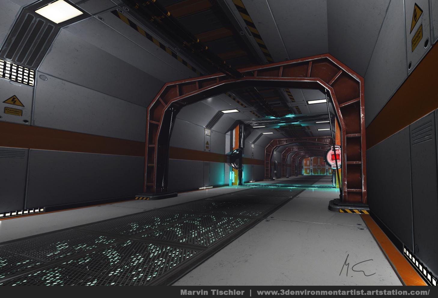Marvin tischler hallway scifi 001 b