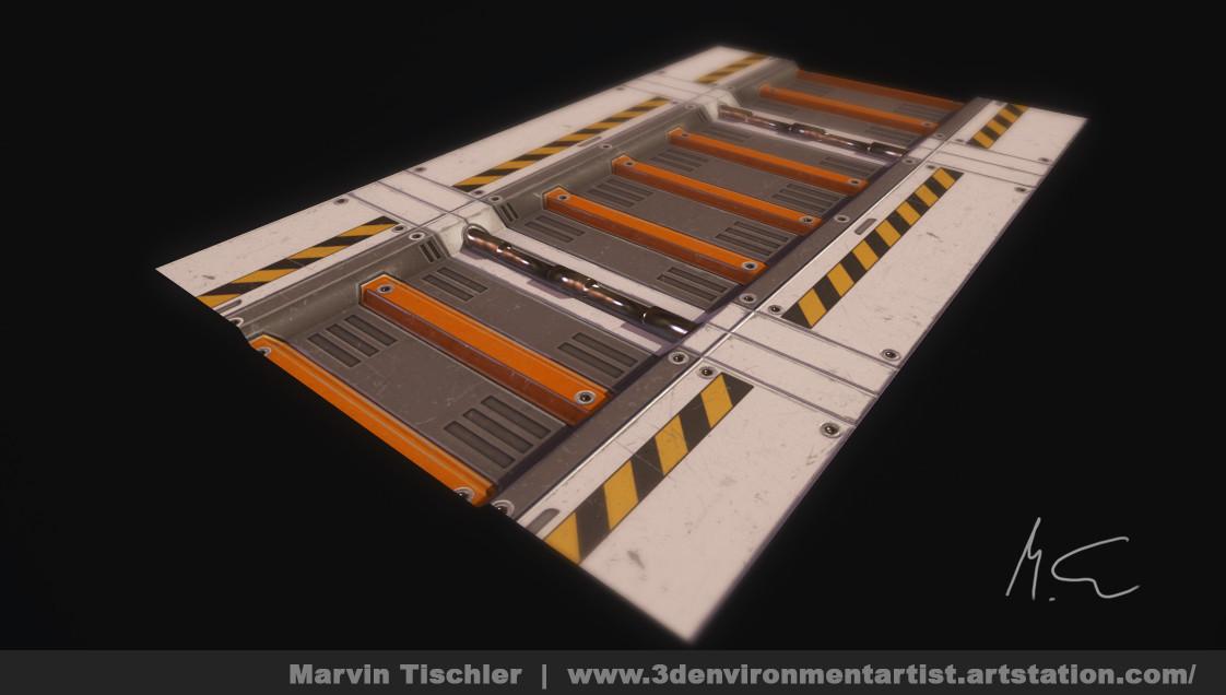 Marvin tischler hallway scifi 001 d