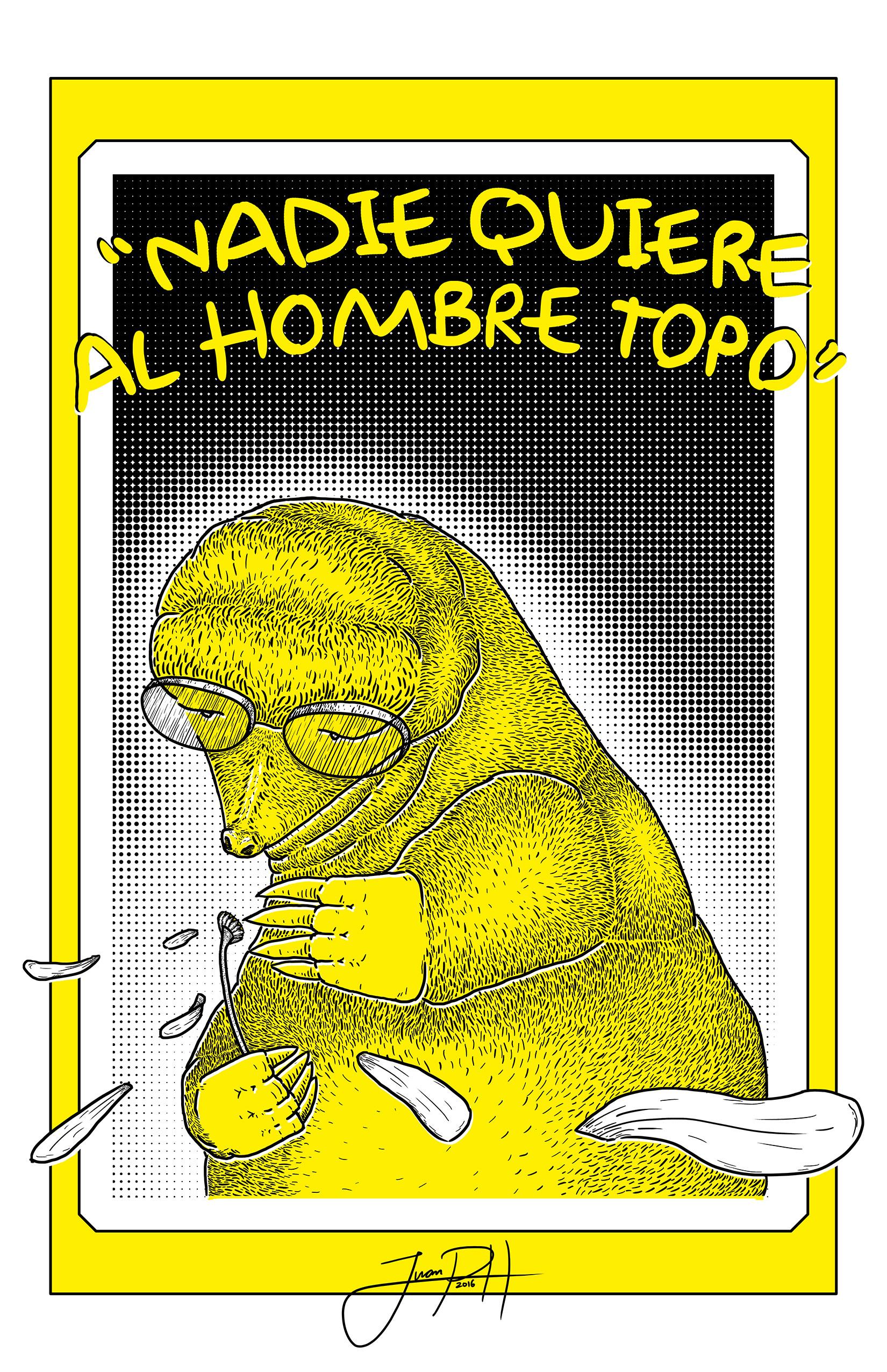 Artstation Nadie Quiere Al Hombre Topo Juan Pablo Herrera Avellaneda