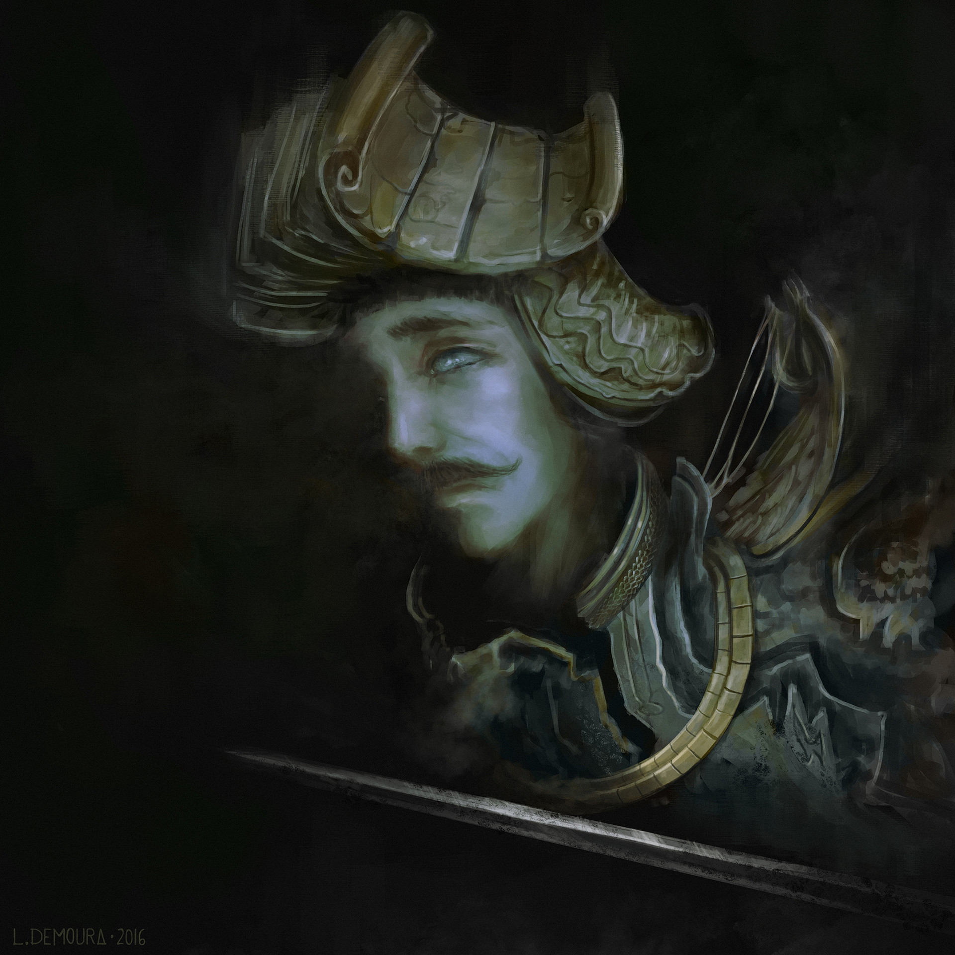 Leonardo de moura estudo rosto penumbra b medium