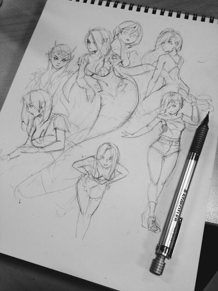 Sketches colllection