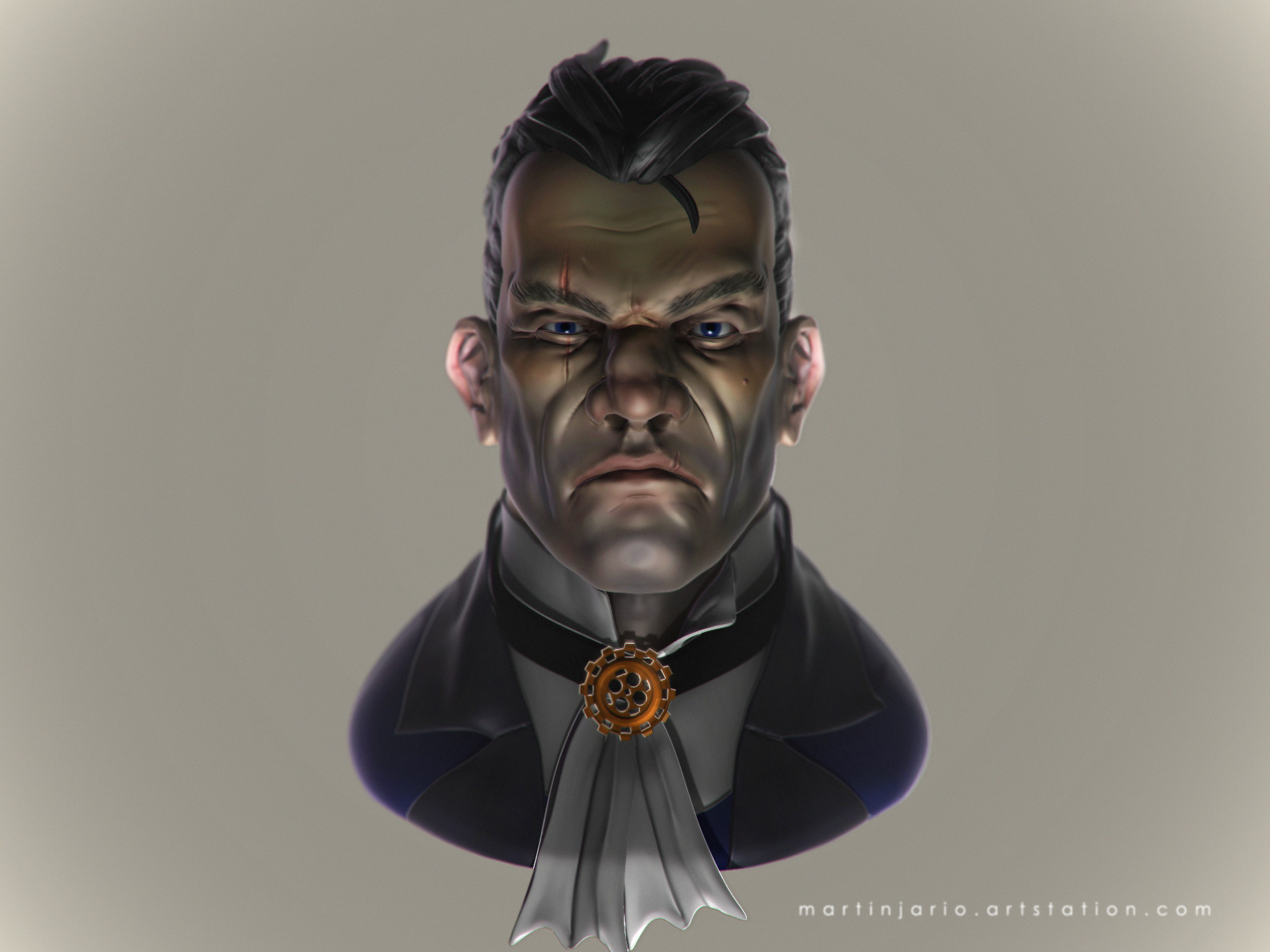Martin jario martinjario dishonored fanart final render