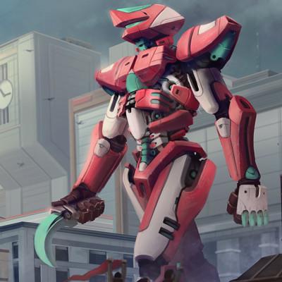 Brandon swan red robot3