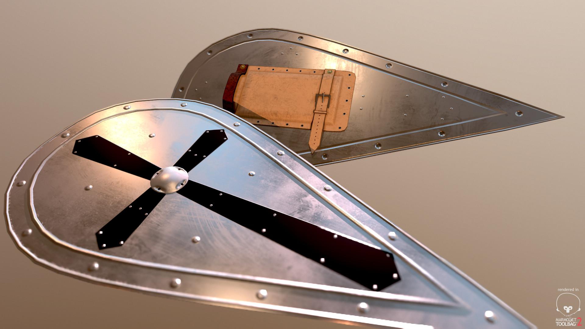 Bela csampai iron norman shield preview mt 04