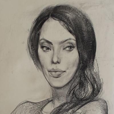 Pavel goloviy portrait girl eyes