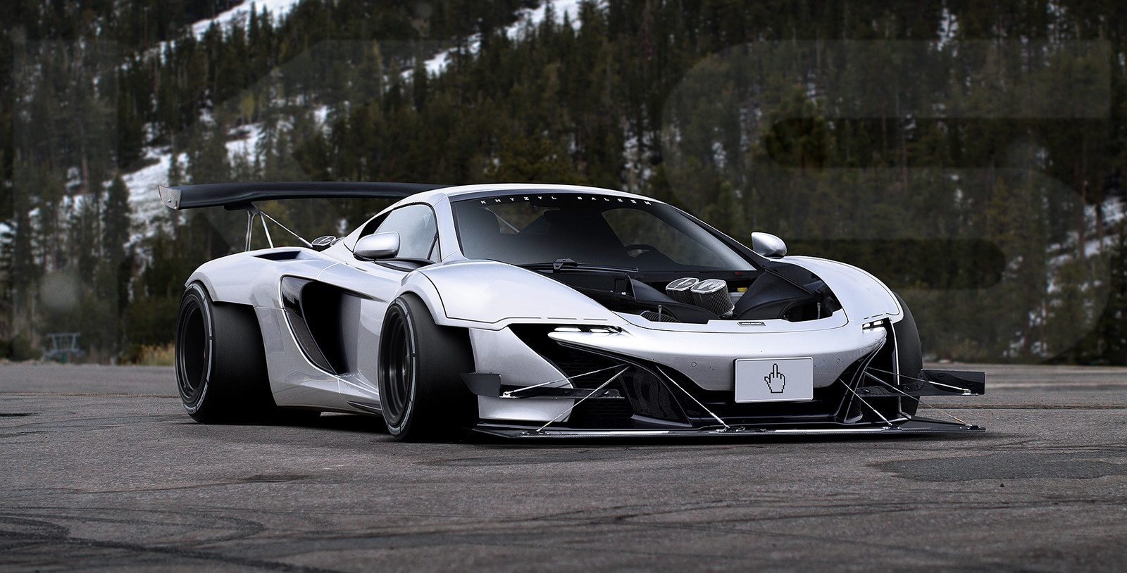 Twin-Engined - 8 Rotor Mclaren 650s
