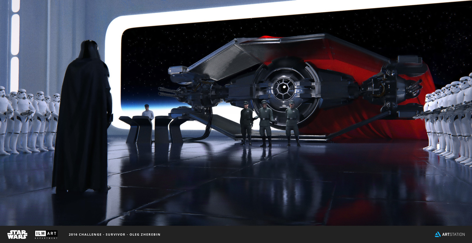 ILM Art Department Challenge : The Ride