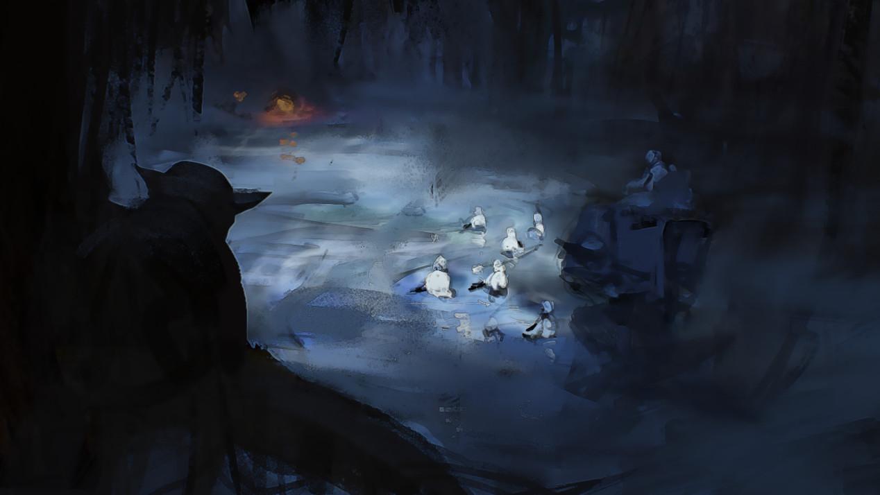 Oleg zherebin sketch