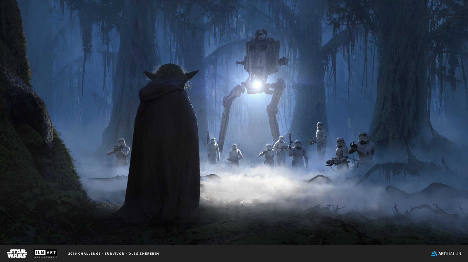 ILM Art Department Challenge : The Moment