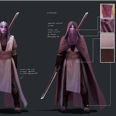 Lap pun cheung the job character design danji warrior princess swana concept art 003 online