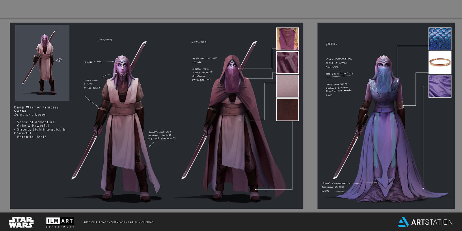 ILM Art Department Challenge - The Job - Part 5 - Character Design