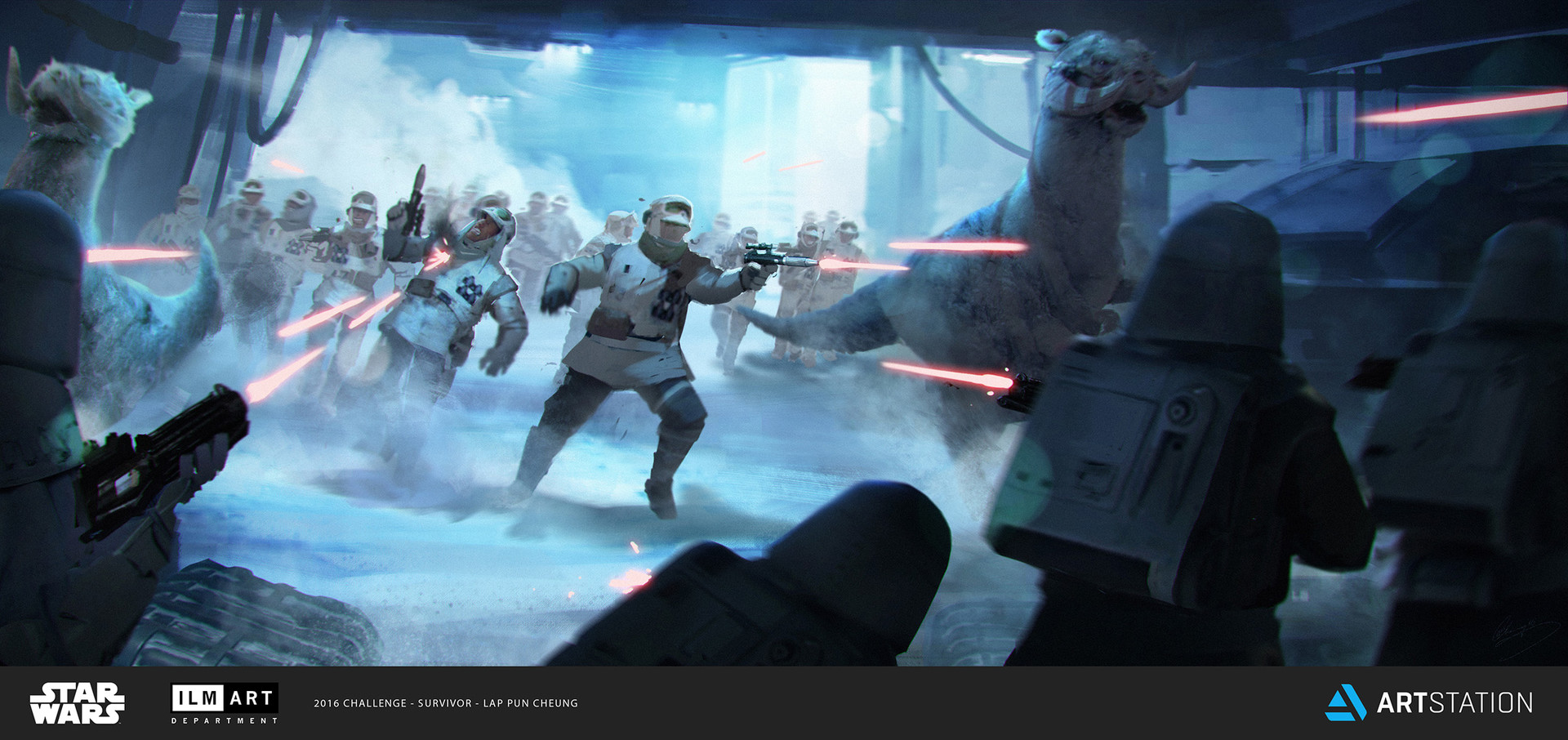 ILM Art Department Challenge - The Job - Part 1 - Keyframe 1