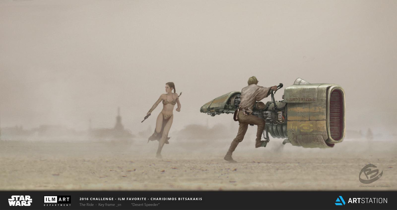 "ILM Art Department Challenge ""The Ride"""