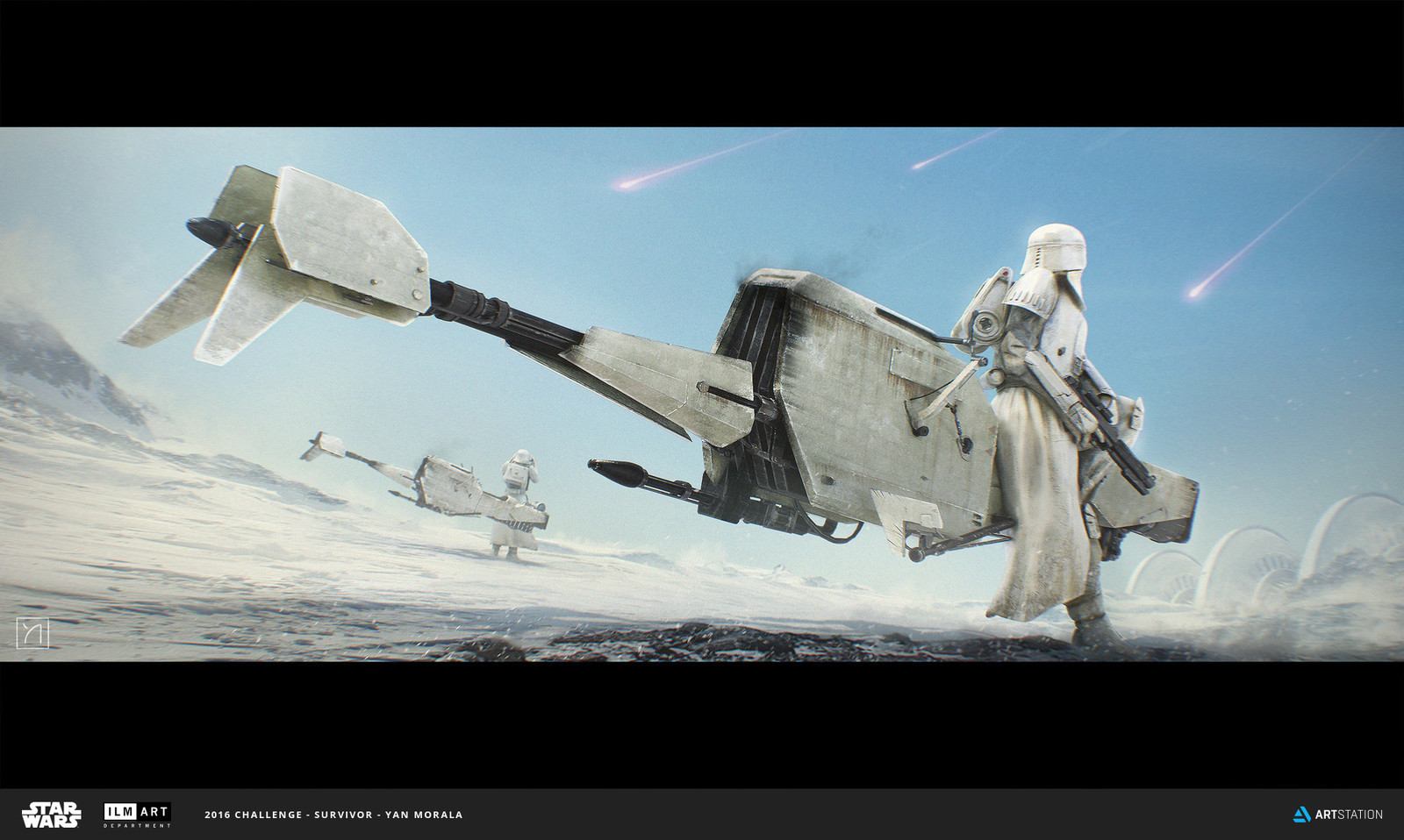 Empire Snow Speeder