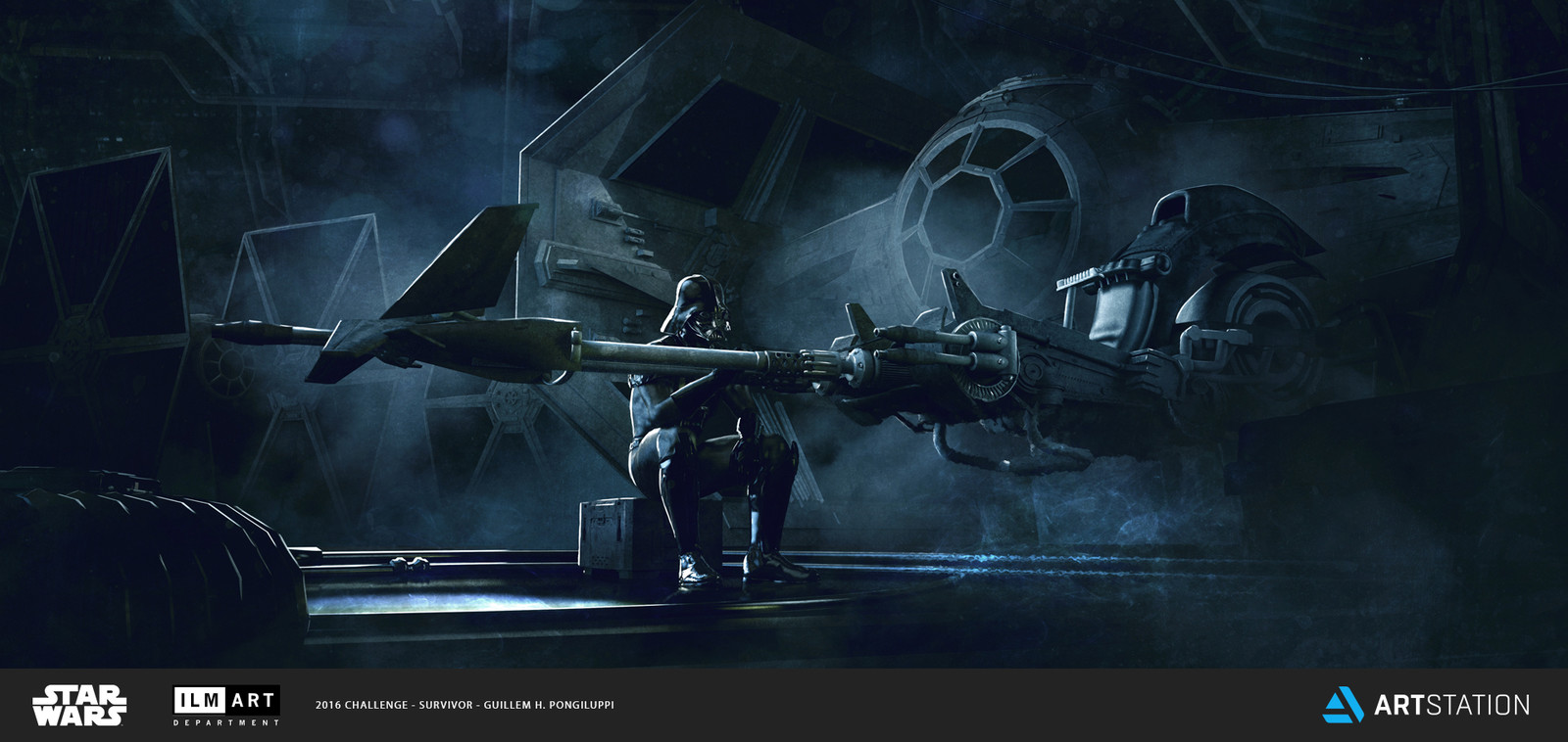 ILM Art Department Challenge - The Ride