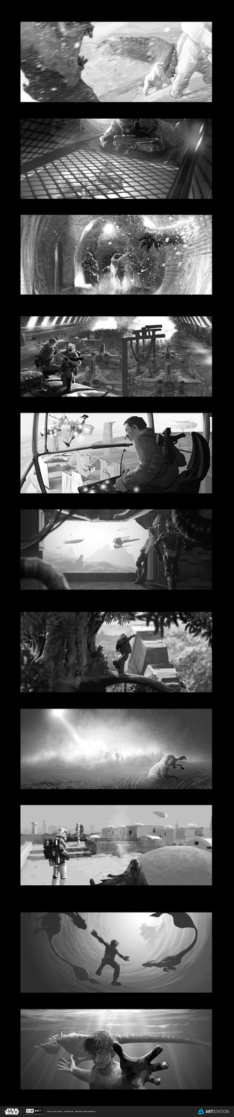 Thumbnail Sketches for the Moment Challenge