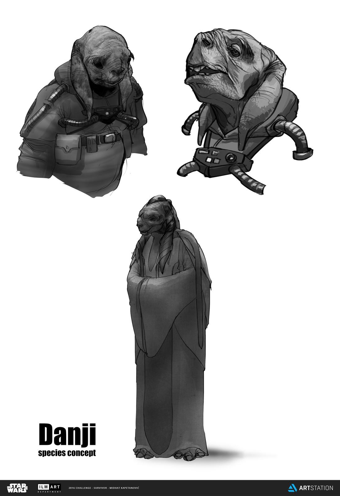 Danji species concept