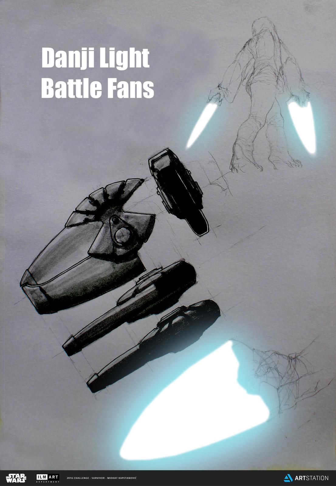 Danji Light Battle Fans concepts 01