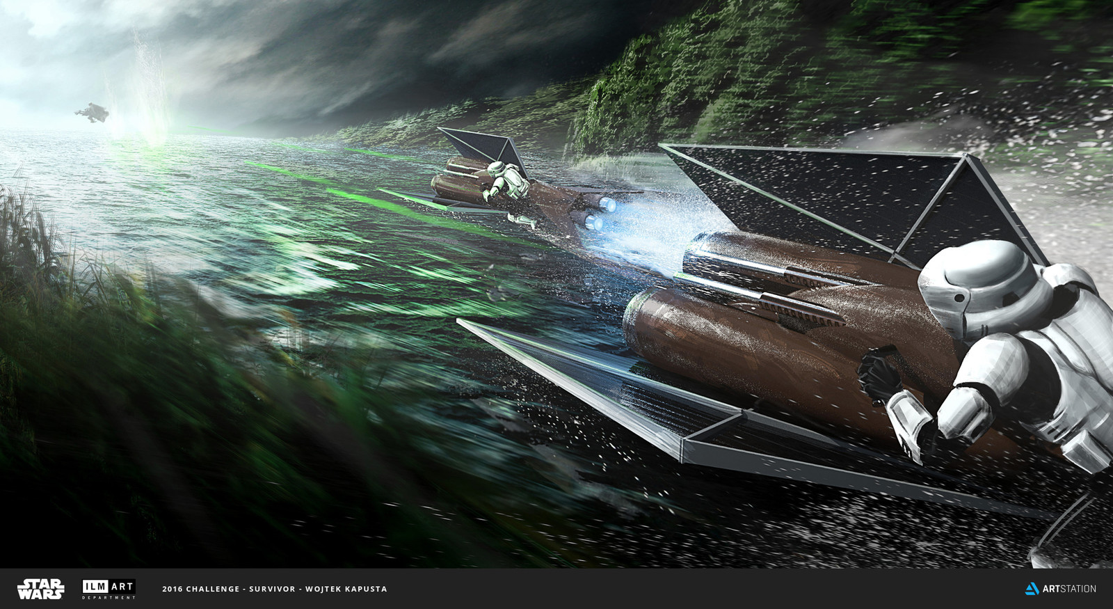 ILM Challenge - the Ride - Water Hazard