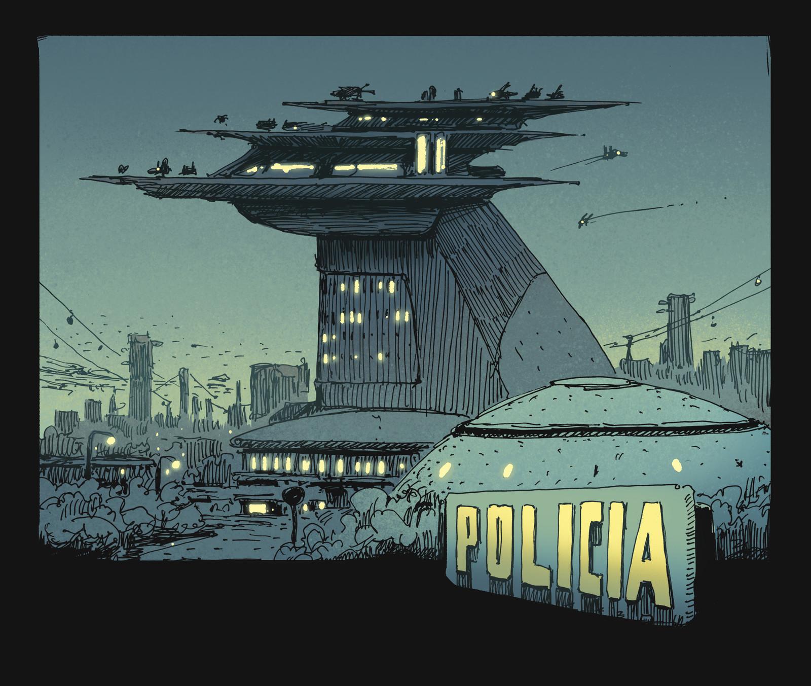 Police Station.