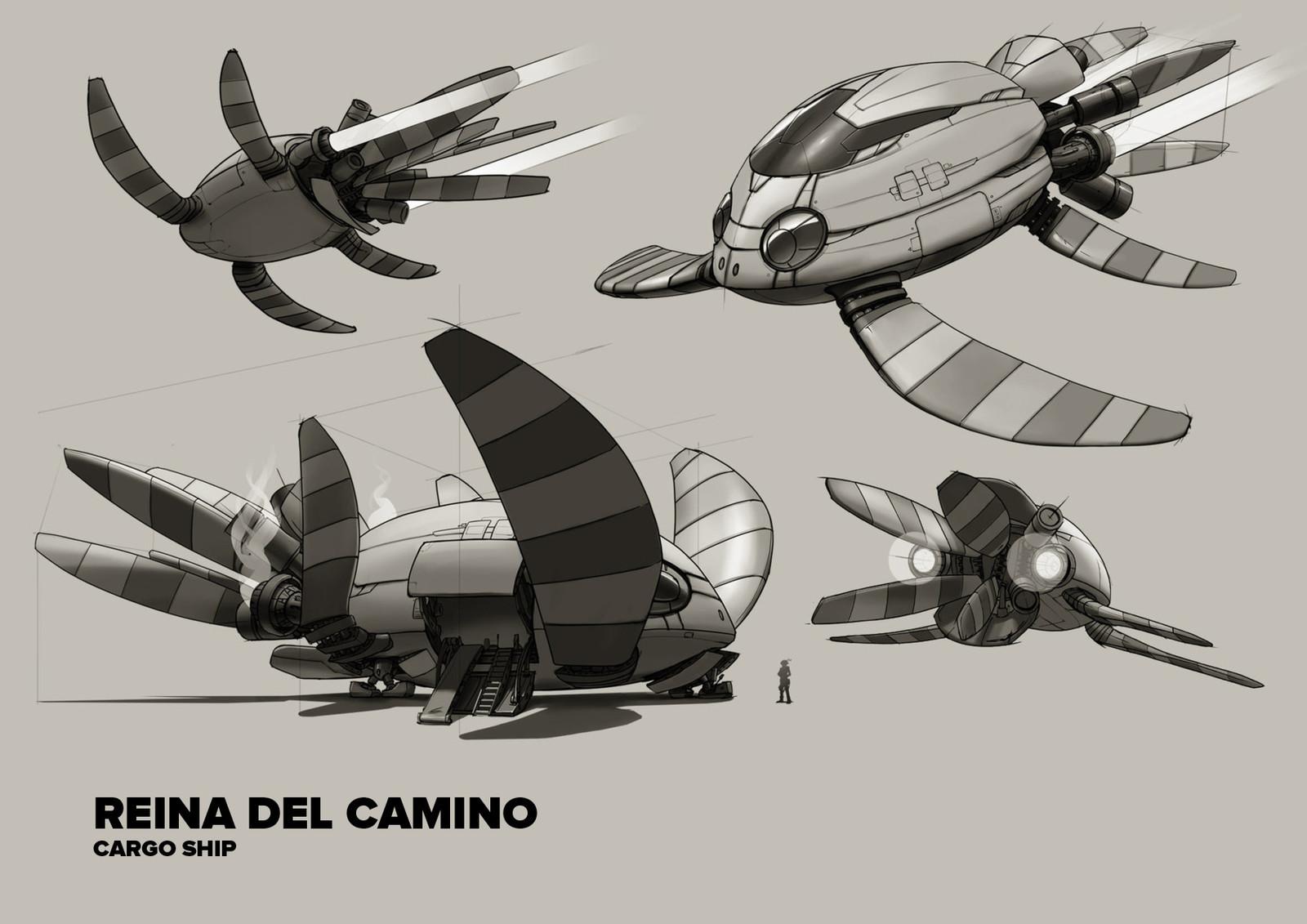 Concept Art - Reina del Camino.