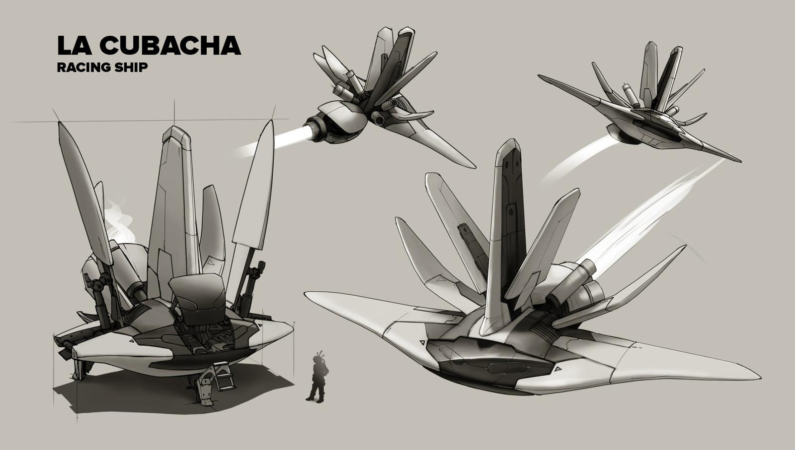 Concept Art - La Cubacha.