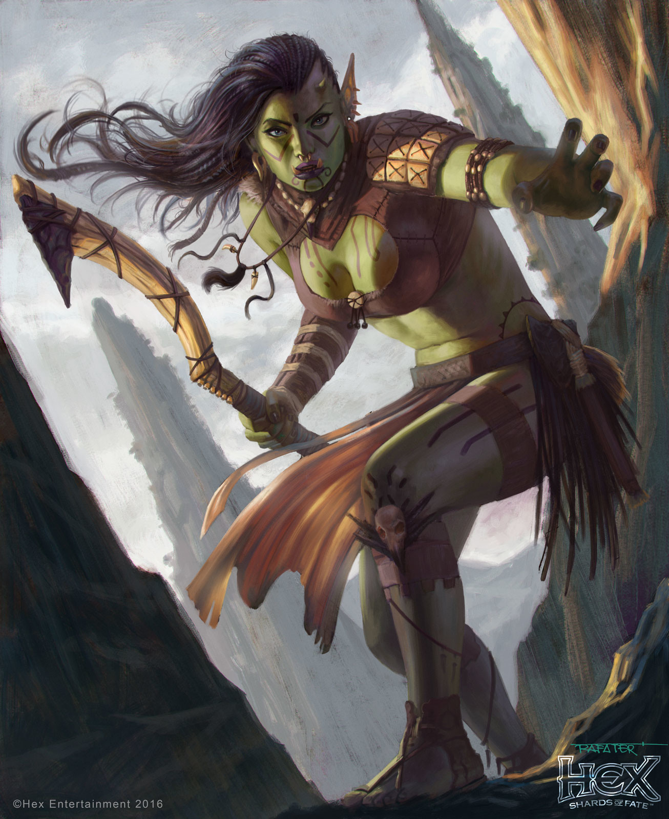 Orc Female Rogue