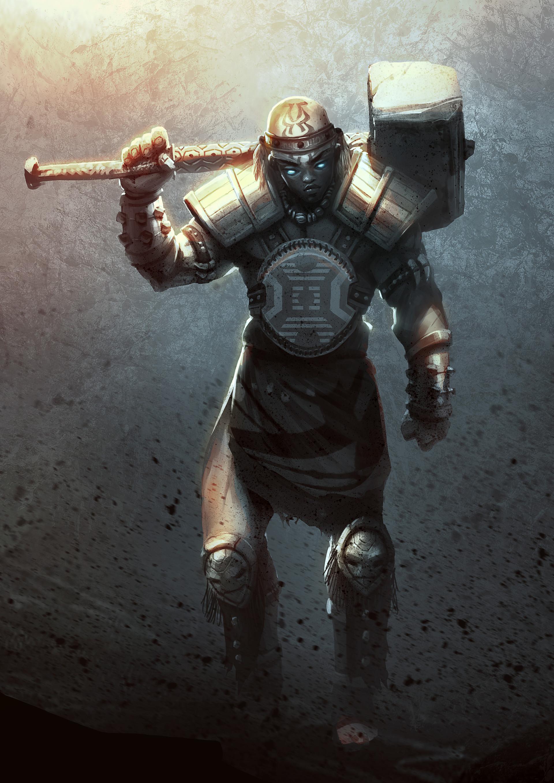 Godwin akpan ogun god of iron