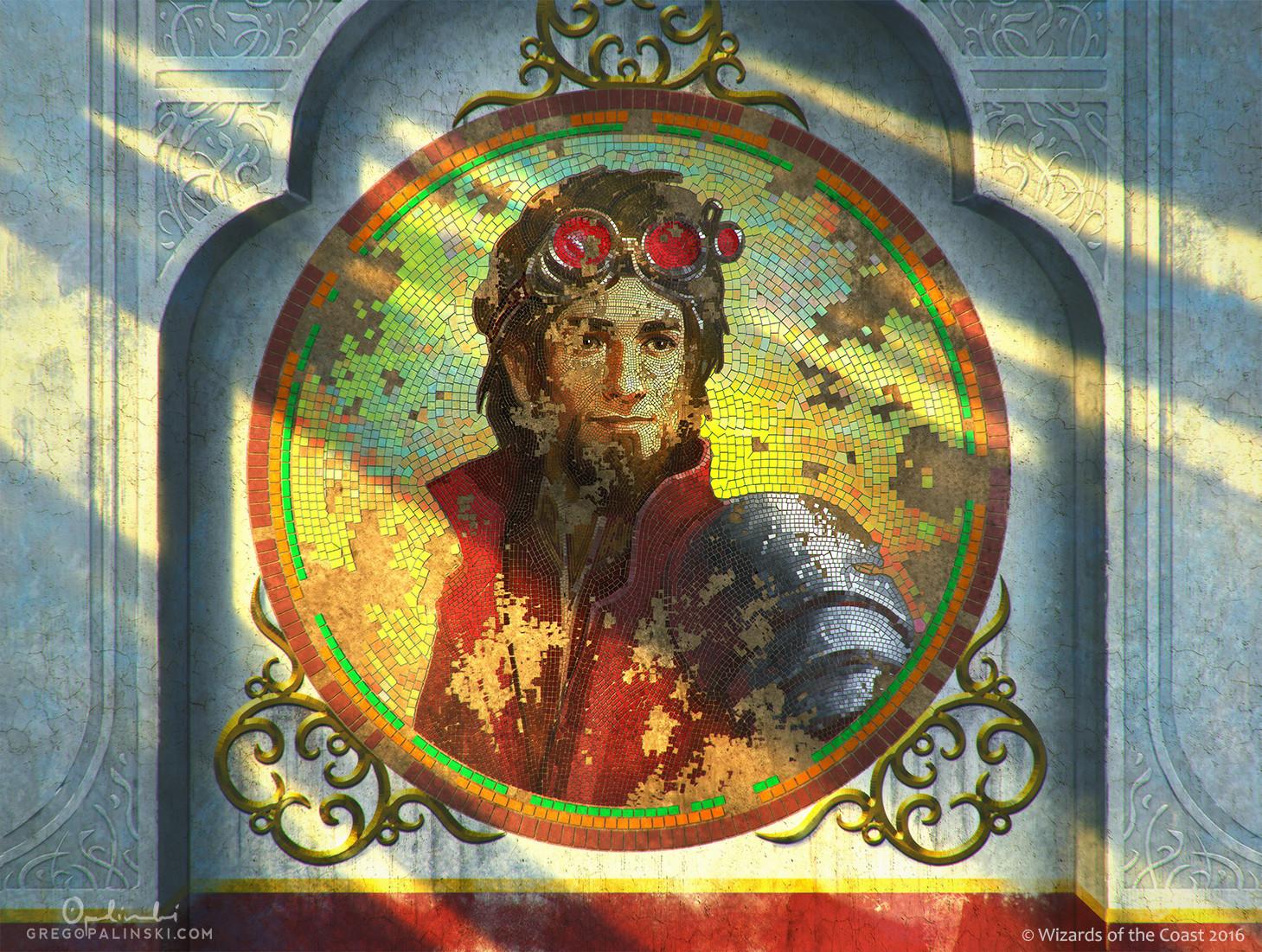 Greg opalinski fading portrait