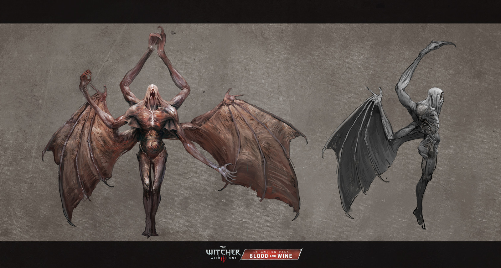 Monster version sketches.