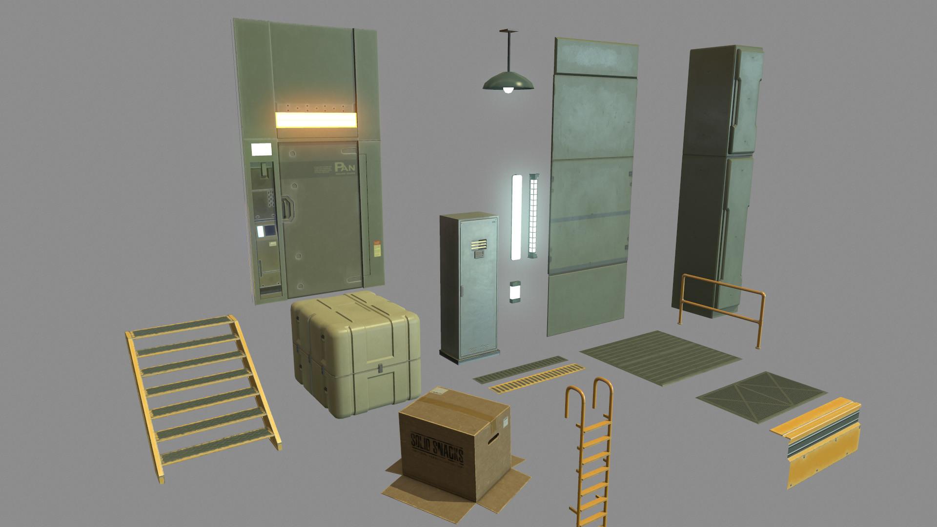 Alex voysey mgs2 modular assets