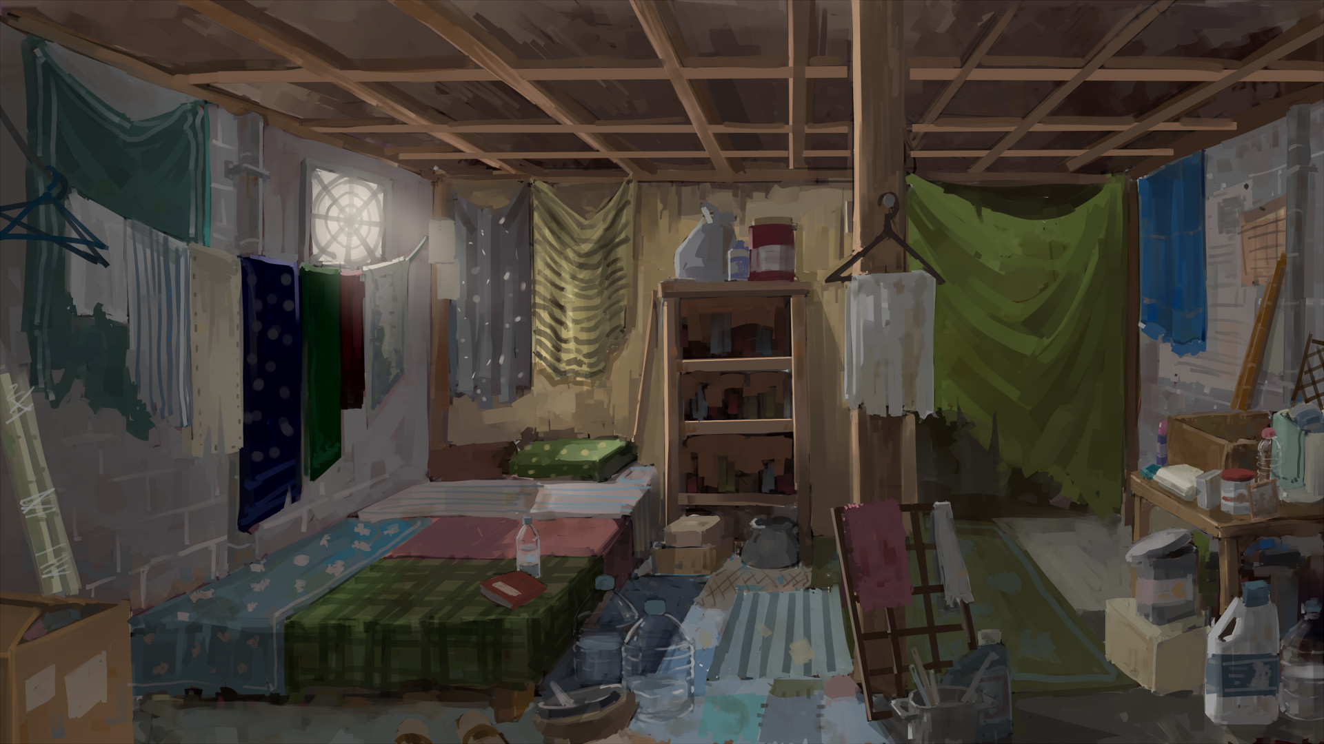 Miraculous Artstation Poor House Han Sin Wee Interior Design Ideas Apansoteloinfo