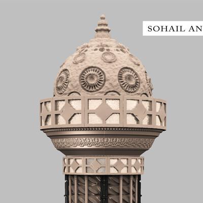 Muhammad sohail anwar ancient column 16bit