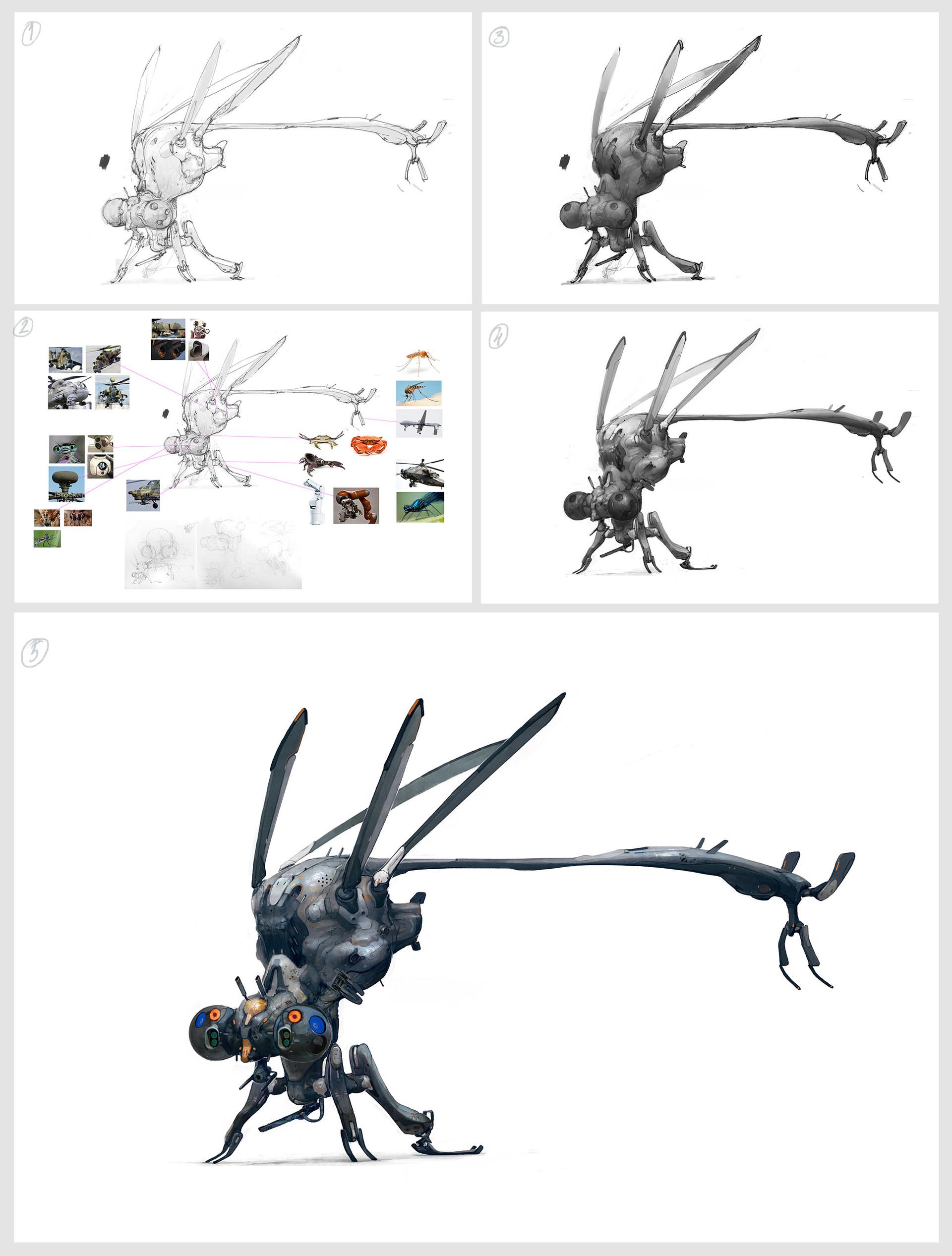 Tipa  graphic moskit 01 wip