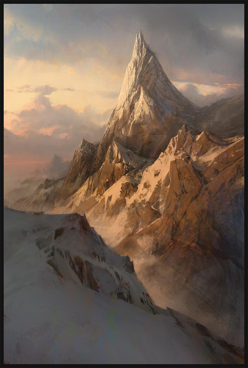 Quentin mabille sunset montagne neige v2