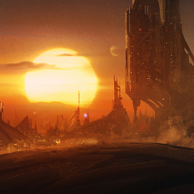 Quentin mabille city sunset v1