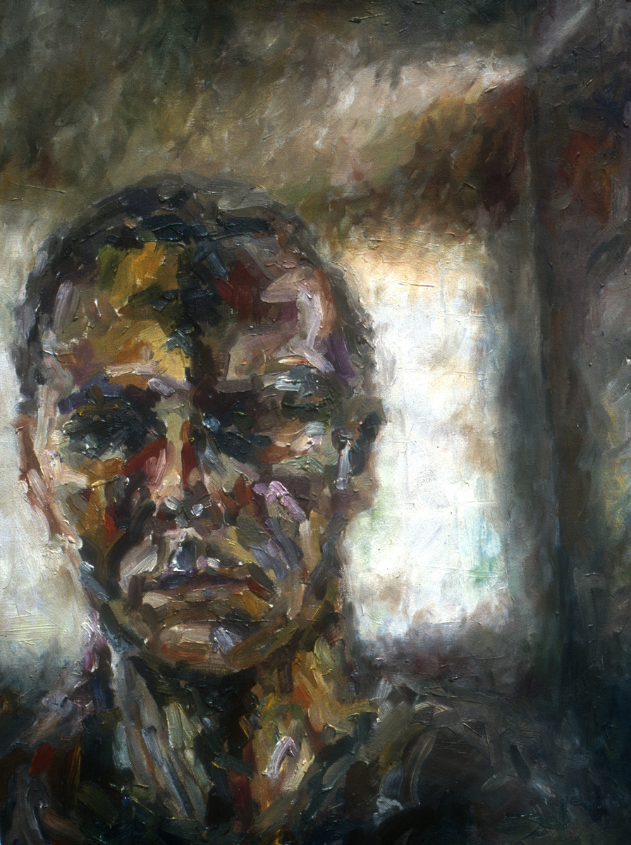 Self-portrait. Oil.