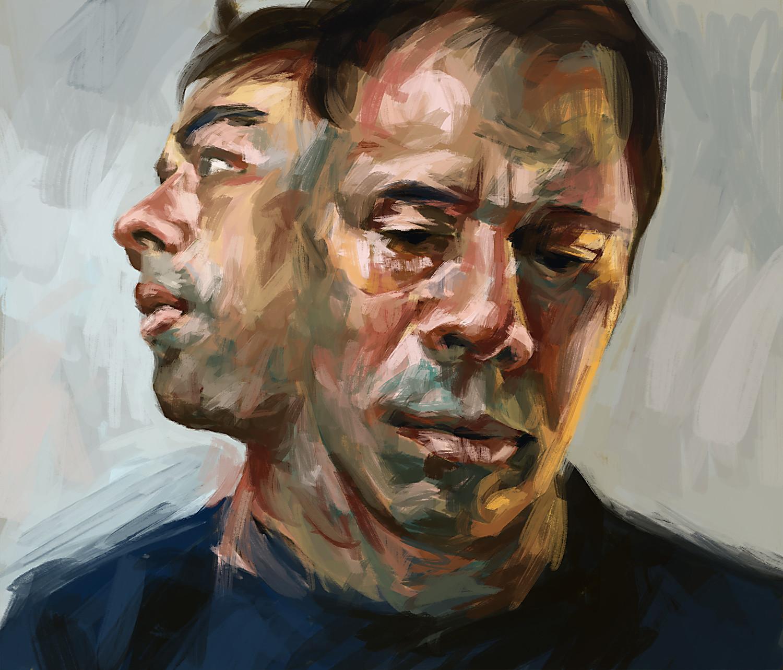 Tai Shan Schierenberg. Self-portrait.
