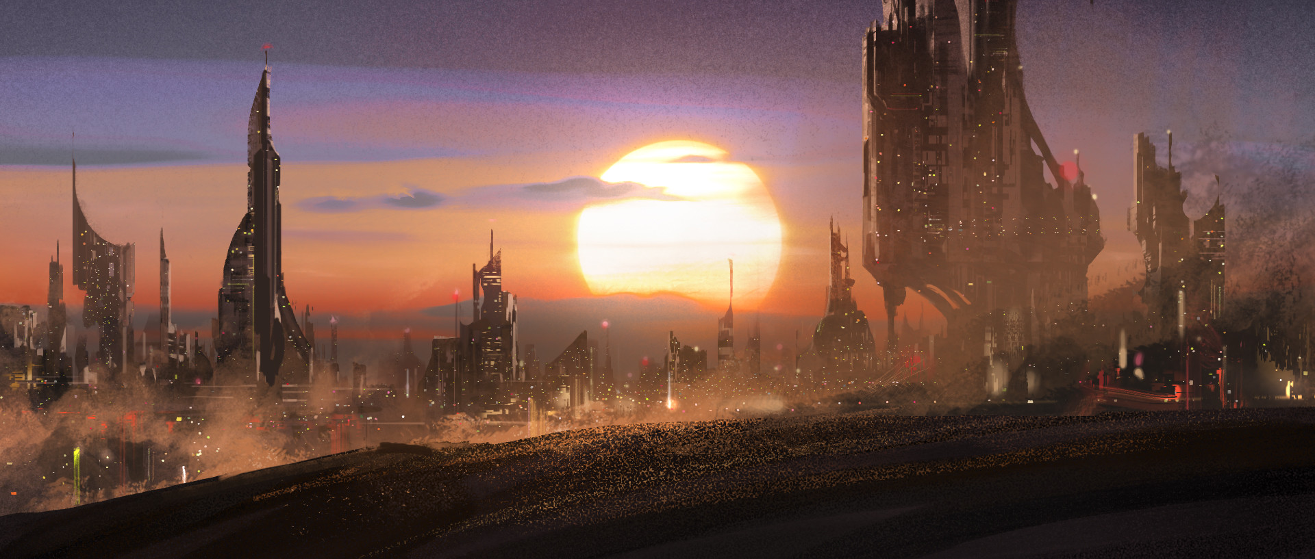 Quentin mabille city sunset wip