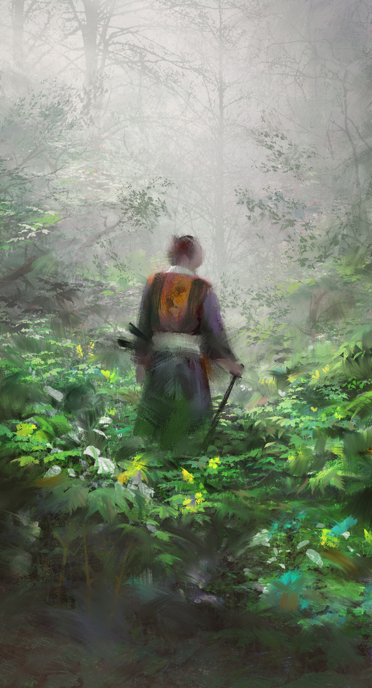 Quentin mabille samurai wip