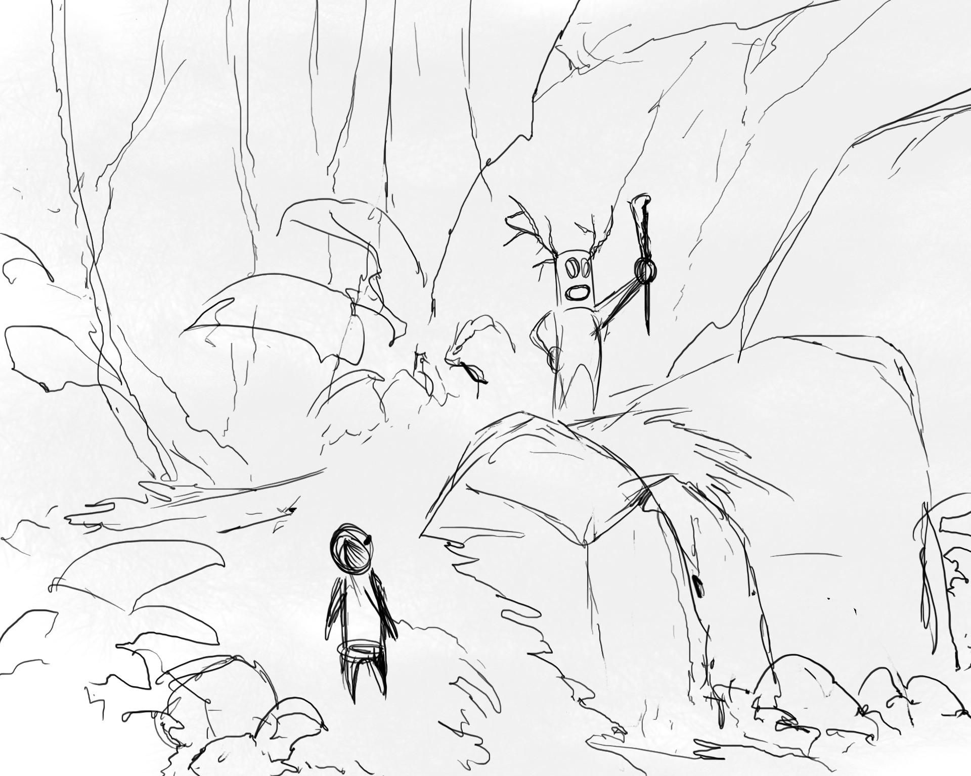 Quentin mabille forest spirit wip