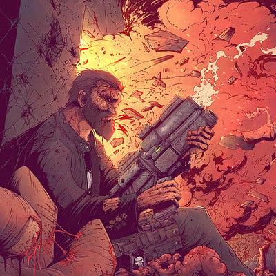 Tonton revolver the punisher last man standing ld