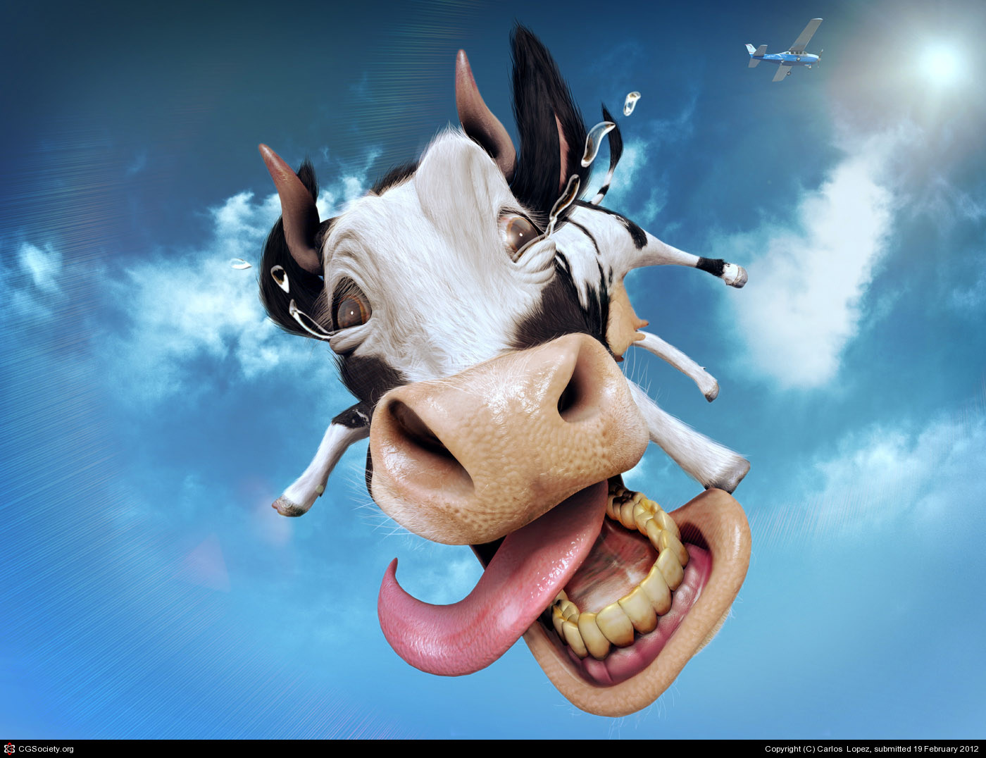 Carlos Lopez Pico The Flying Cow