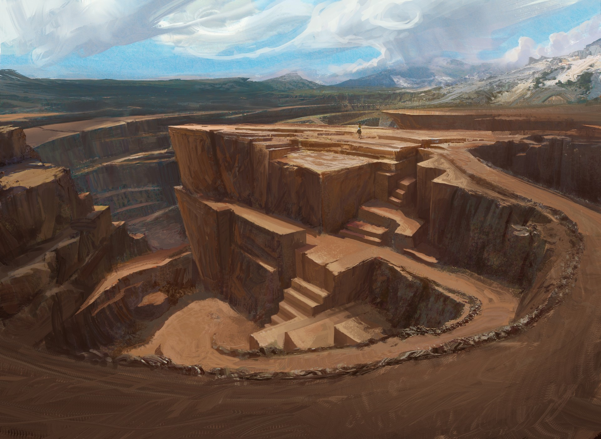 Efflam mercier stone quarry