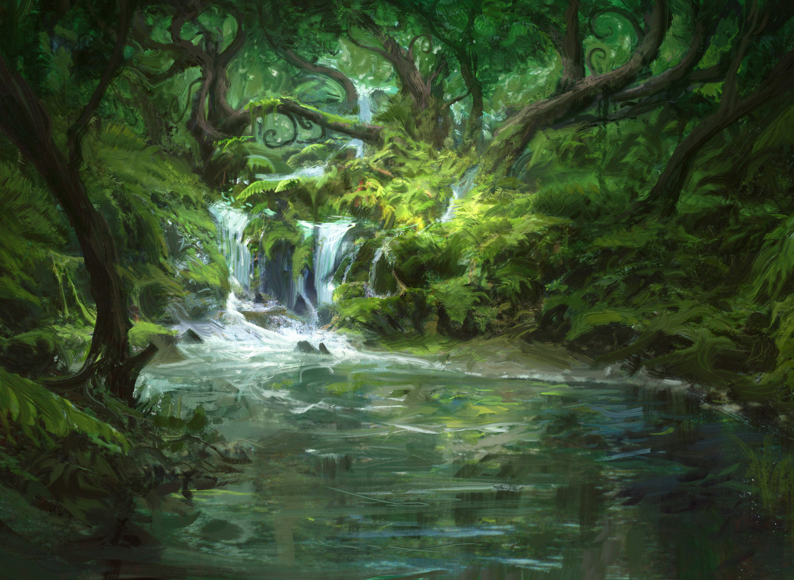 MTG : Woodlands Stream