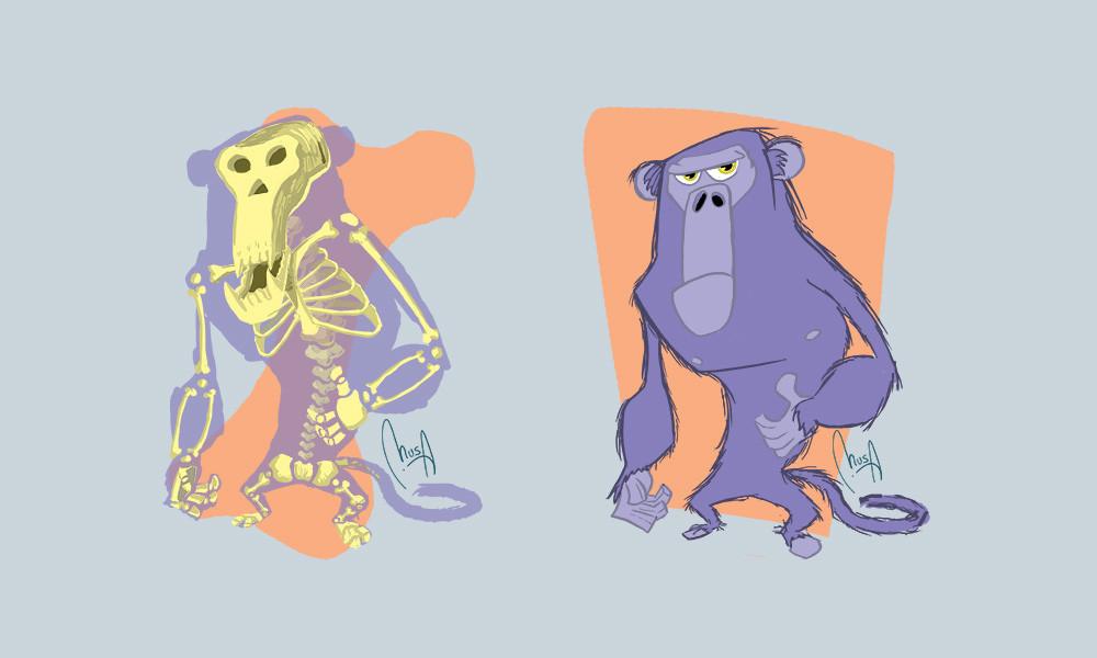 Monty + Monkeys